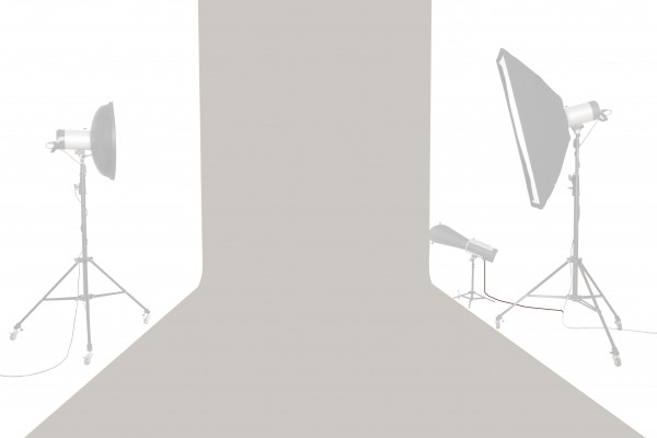 Tetenal Hintergrundkarton 1,35x11m, TV Gray