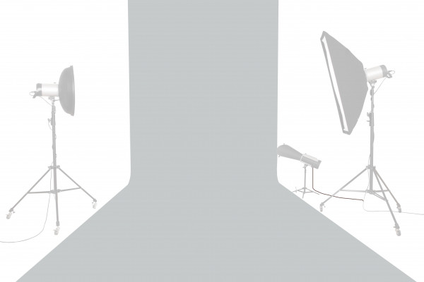 Tetenal (Savage) Hintergrundkarton 2,72x11m, Focus Gray