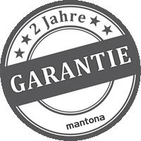 2 Jahre Garantie auf Mantona Artikel